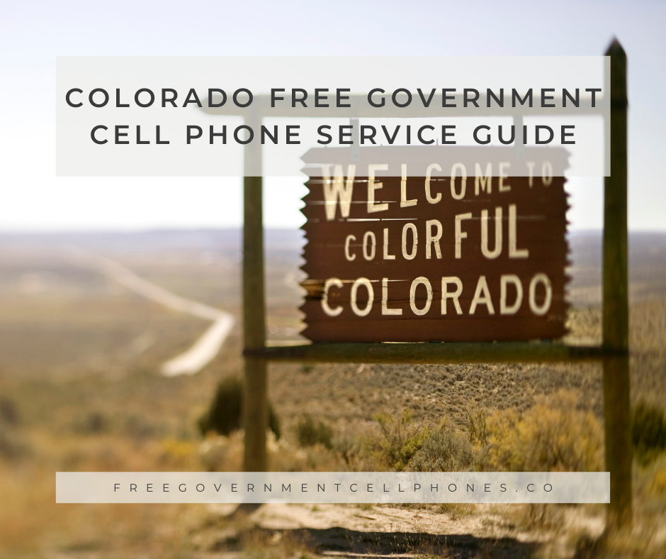 colorado free government cell phone service guide