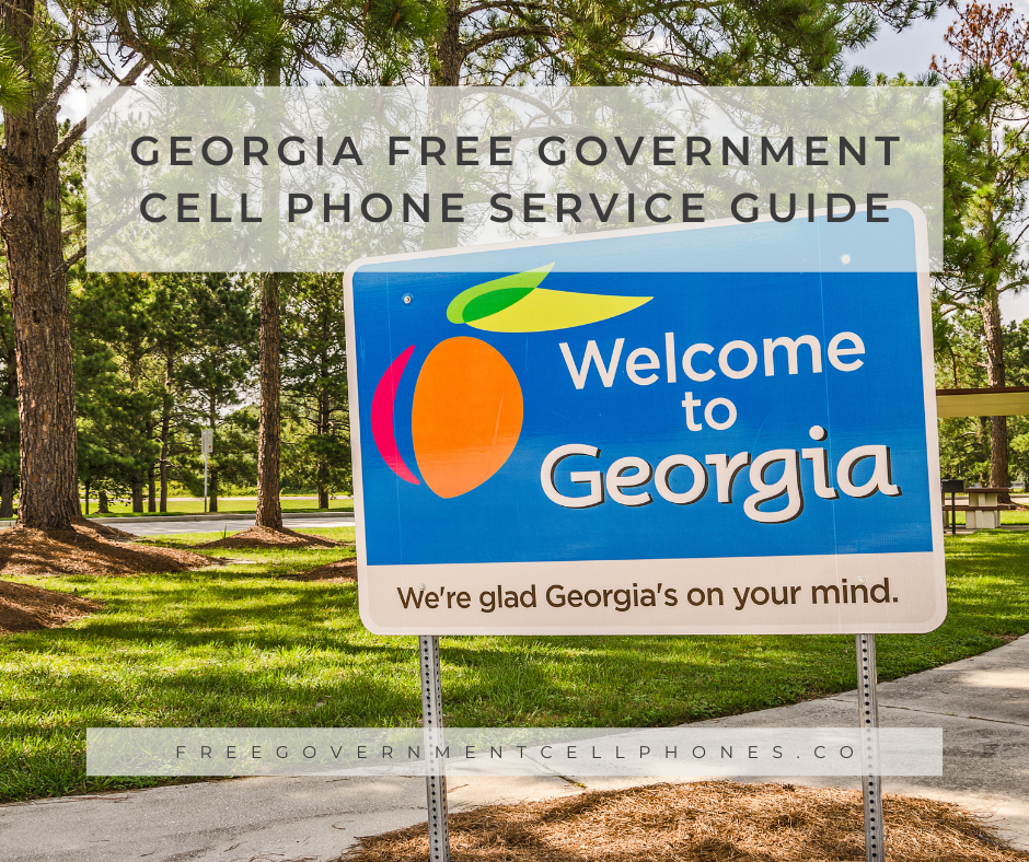 georgia free government cell phone service guide