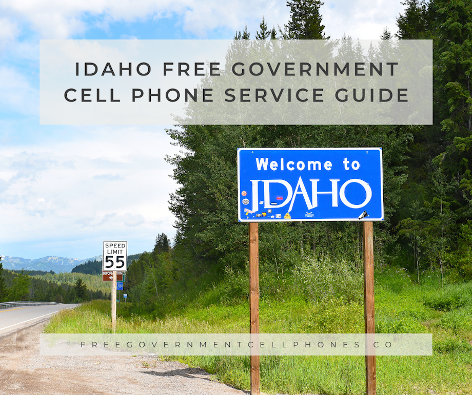 idaho free government cell phone service guide