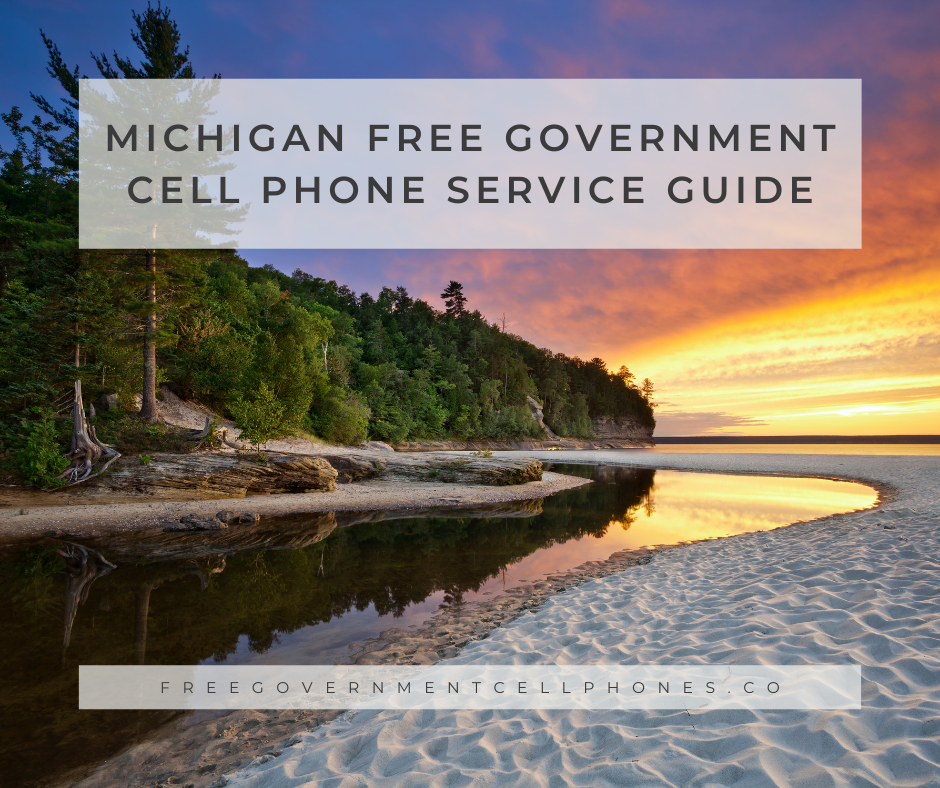 michigan free government cell phone service guide