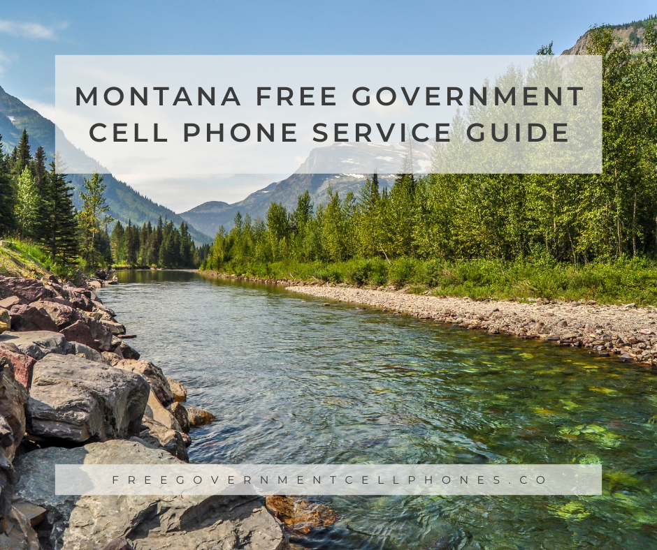 montana free government cell phone service guide