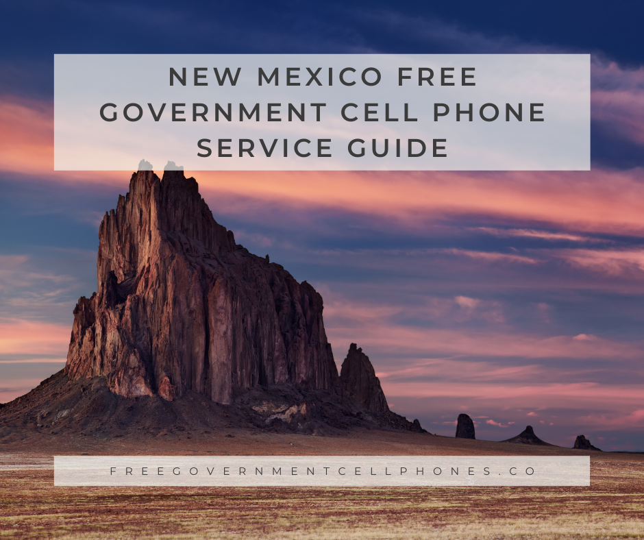 new mexico free government cell phone service guide