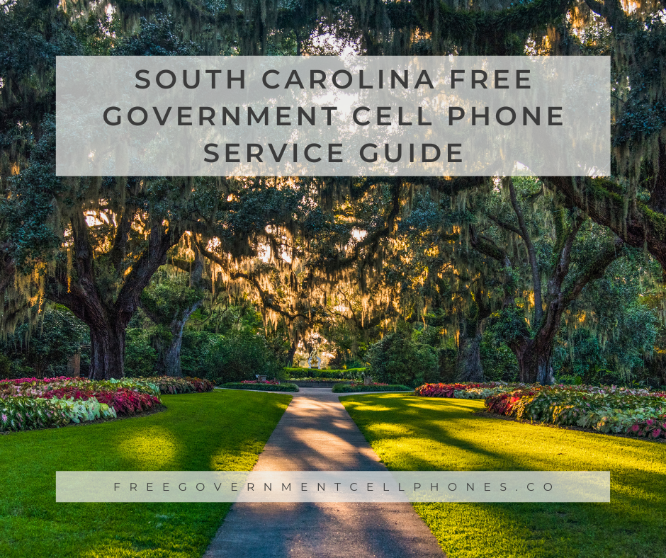 south carolina Free Government Cell Phone Service Guide
