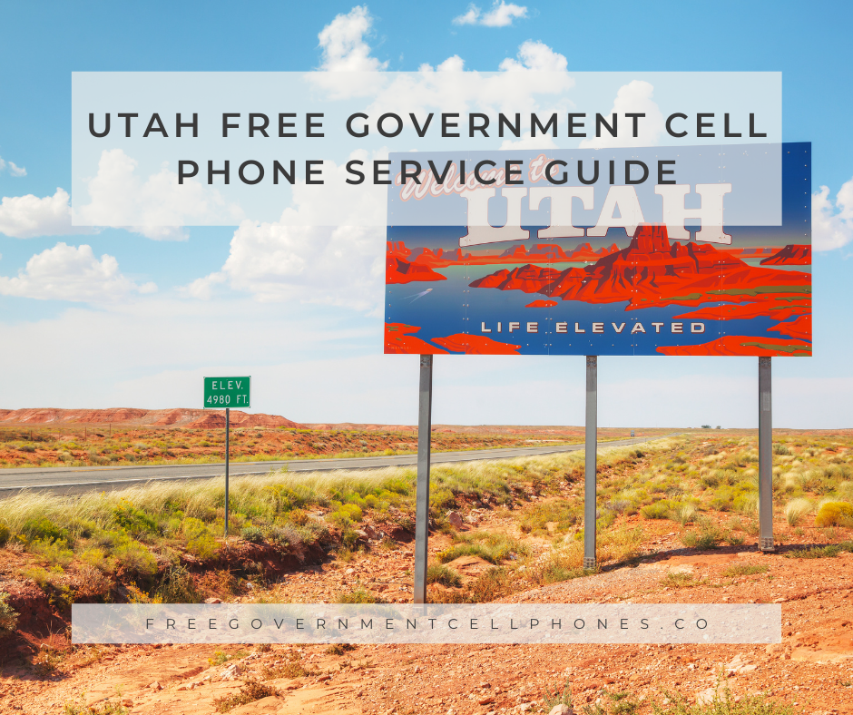 utah free government cell phone service guide