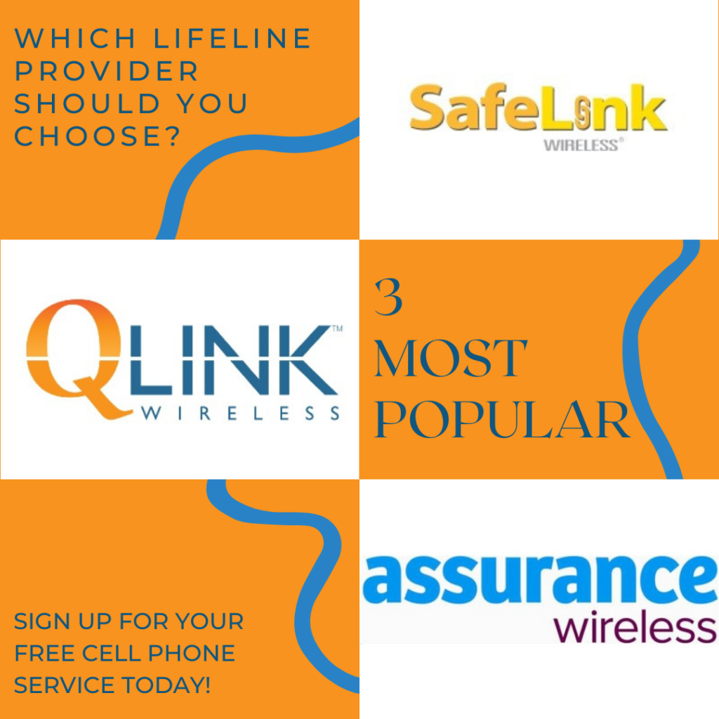 choose free government cell phone service provider