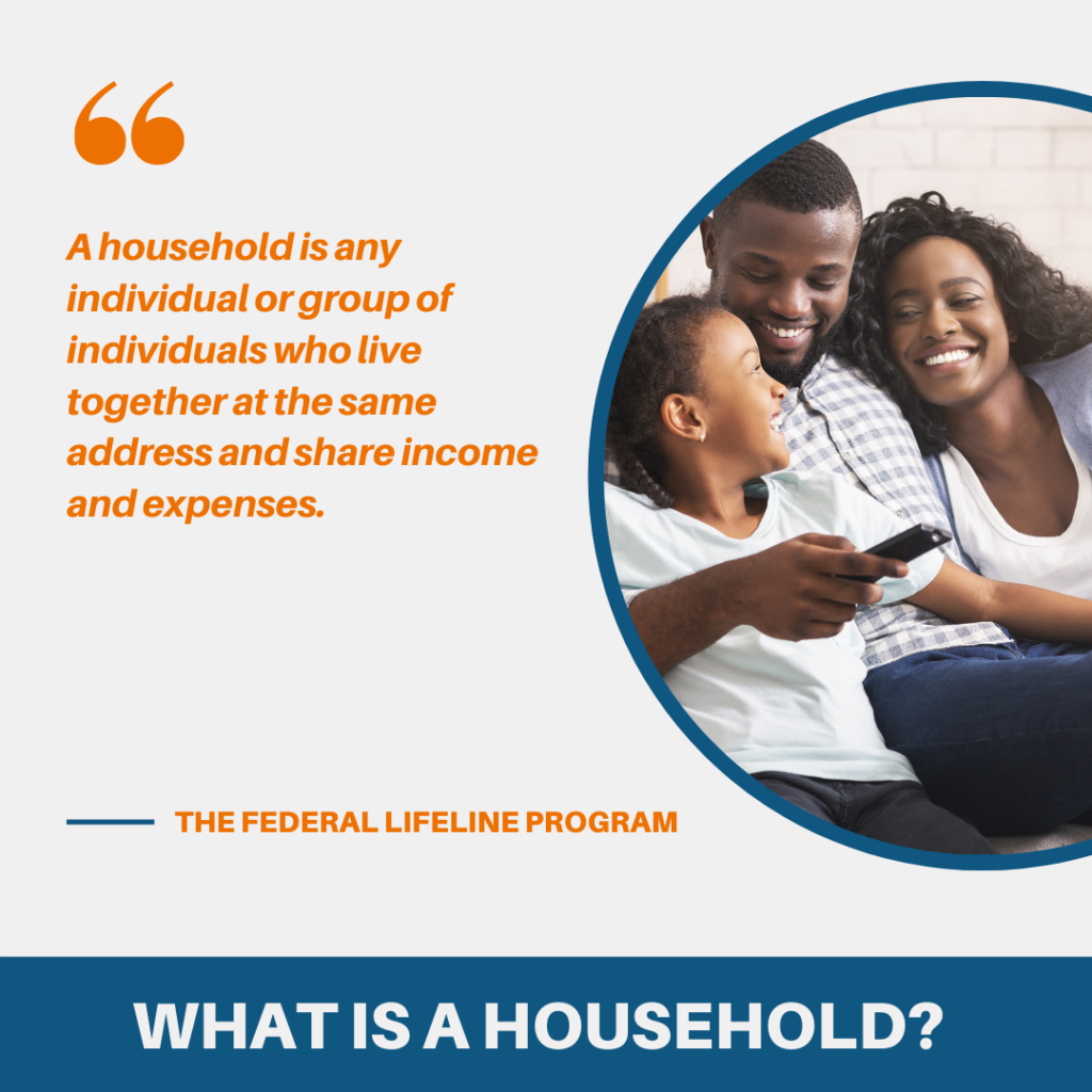 what is a household how to qualify for lifeline