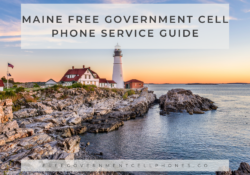 maine Free Government Cell Phone Service Guide